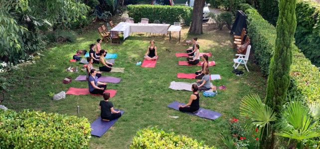 L'été est là… Vive le yoga!