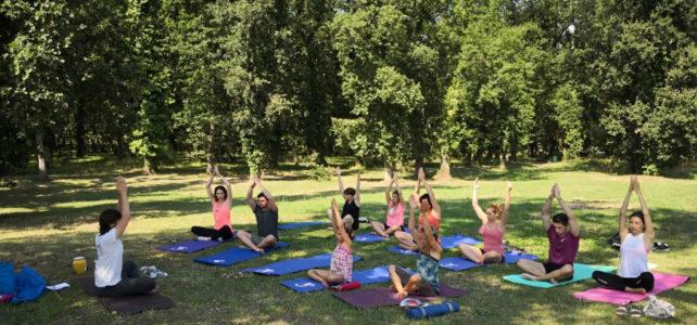 Venez goûter le plaisir du yoga en plein air – nouveaux lieux et nouveaux horaires