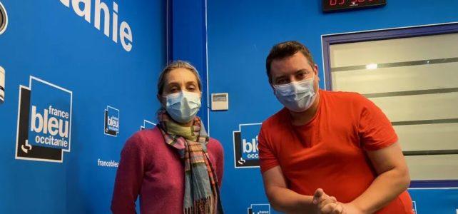 Une séance de Yogalipette sur France Bleu Occitanie: respirer pour mieux affronter la période compliquée