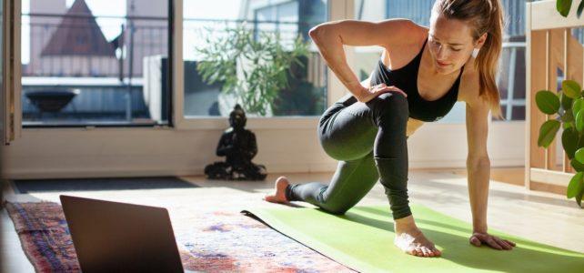 Les cours de yoga sont maintenant en ligne !